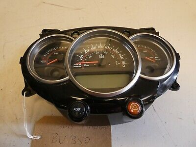 2015 Piaggio BV 350 Super Sport ABS instrument cluster.14,920 miles Tested.