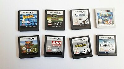 Bundle collection of 8 Nintendo DS games