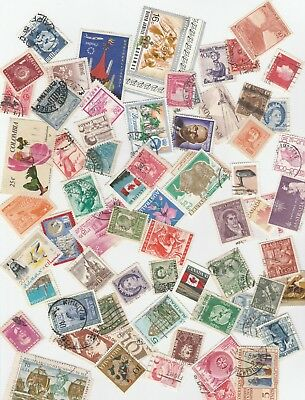 Wp3 - 1000 Foreign Stamps From Many Countries - Off Paper - Used - Stock Photo