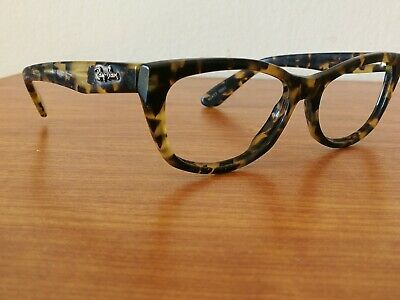 Vintage Ray Ban B&L W 1437 Multicolor Rectangular Sunglasses Frame Made In Usa