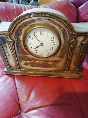 Vintage Art Deco Mantle Clock- French Made