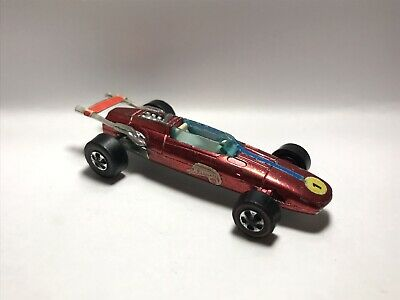 Hot Wheels Redline 1969 Indy Eagle Red RARE White Interior