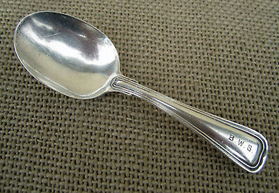 Antique Gorham Sterling Silver Baby Spoon ~ Old French Pattern 1904