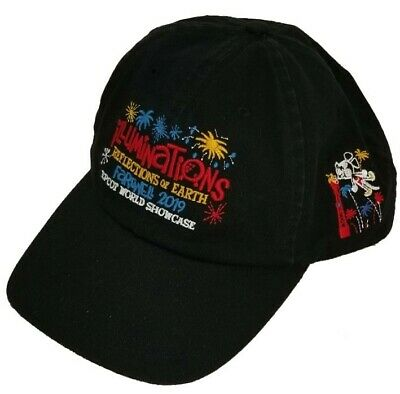 Walt Disney World Epcot Farewell Illuminations 2019 Adult Baseball Cap Hat