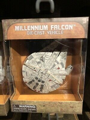 Disneyland Star Wars Galaxy's Edge Die Cast Vehicle Millennium Falcon