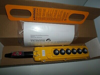**New In Box** Magnetek Sbn-6-Wa Pendant Pushbutton Control Station 6-Button