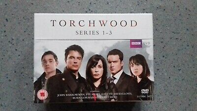 Torchwood - Complete Series 1, 2 & 3 [Dvd] New & Sealed