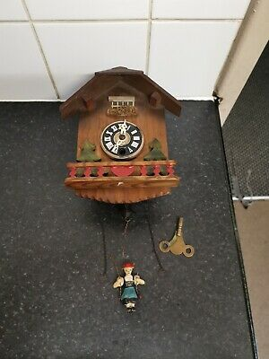 Vintage Swing Cuckoo Clock Spares Repair Only
