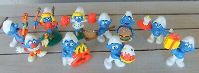 Very rare complete set of 10 vintage Dutch McDonalds MacDonald's 25th aniversary