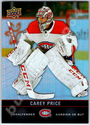 2019-20 UPPER DECK TIM HORTONS CAREY PRICE Hockey Card Montreal Canadiens Mint