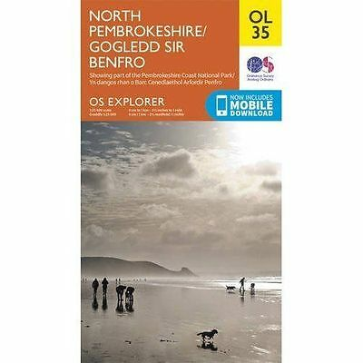 OS Explorer OL35 North Pembrokeshire (OS Explorer Map), Ordnance Survey