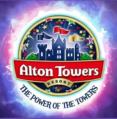 2 X ALTON TOWERS tickets for use on Saturday 28th September