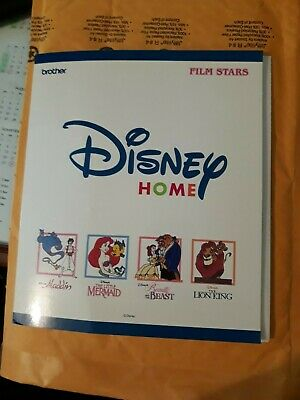Brother Disney Embroidery Machine Design Card FILM STARS