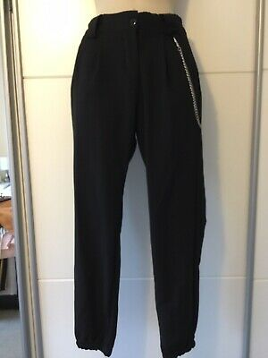 Girls Black Trousers Age 12-13 Years 915 New Look