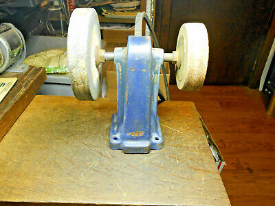 Cool Vintage Dunlap Grinding Arbor Belt Driven Bench Grinder Gmtry Best Dining Table And Chair Ideas Images Gmtryco