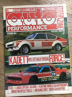 Auto Performance Magazine | Opel | Lancia | Minister Engines | Rally | Hot Rod