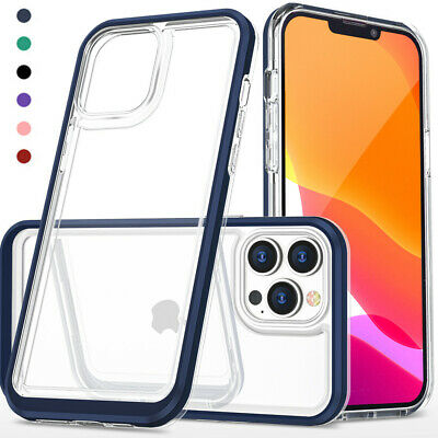 Hard Shockproof Clear Phone Case For iPhone 11 Max Pro XS Max XR X 6 6s 7 8 Plus
