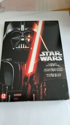 coffret film dvd STAR WARS 4/5/6 dark vador jedi harrison ford
