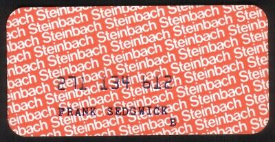 Vintage Steinbach Stores (and Howland Stores) Princess Size Merchant Credit Card