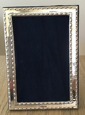 """Hallmarked Silver Photo Frame 6""""x4"""". Fully hallmarked in London, including date."""