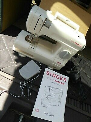 Singer Tiny Tailor Mending Machine In Box