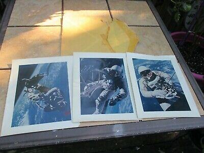 Vintage Astronaut Outer Space Pictures