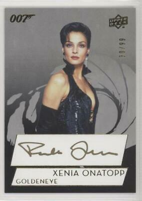 Upper Deck 007 James Bond Collection Famke Janssen Xenia Onatop SP AUTOGRAPH /99