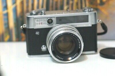 Vintage Yashica IC Lynx-14E with fast lens 45mm 1.4 . please read description!