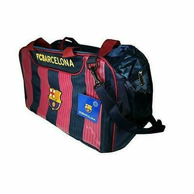 OFFICIAL BARCELONA FOOTBALL CLUB FADE HOLDALL TRAVEL SPORTS GYM BAG Sports acc