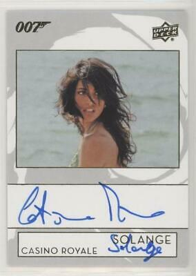 Upper Deck 007 James Bond Collection Caterina Murino Inscription AUTOGRAPH