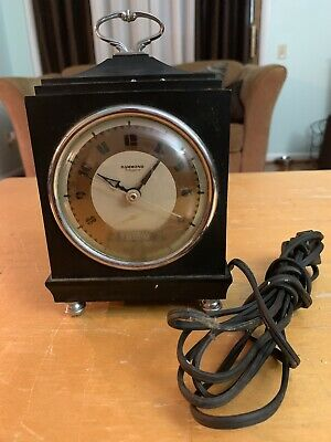 Vintage Hammond Bichronous BK-1 Day Date Calendar Clock Repair Parts Not Working