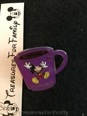 Disney Pin Cast Lanyard Collection 4 Coffee Mugs Mickey Mouse FREE SHIP