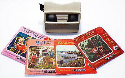 View-Master Viewer and 4 Complete View-Master Sets