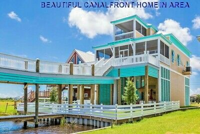 Wow! Canalfront Land With Gulf Of Mexico Access Near Casino ~ Full Price Auction