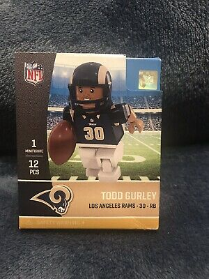 Todd Gurley Los Angeles Rams Color Rush OYO Sports Toy G4 Ser4 Figure Minifigure
