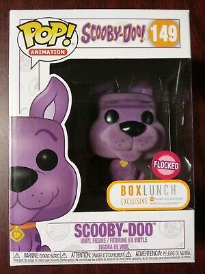 Funko Pop! Animation Scooby-Doo Purple Flocked Box Lunch Exclusive #149
