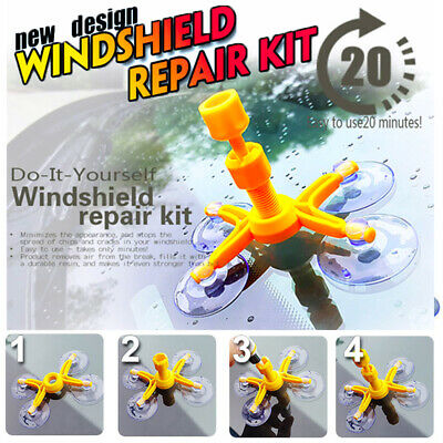 Glass Corrector Set Professional Quality Windshield Repair Kit ✅ US STORE ✅