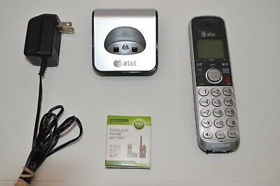 AT&T TL92420 Bluetooth Cordless Handset Extension With Charging Base