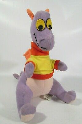 Vintage Disney World Epcot 1982 Figment the Dragon 12in. Plush Doll Stuffed