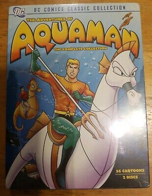 The Adventures of Aquaman - The Collection (DVD) 2-Disc Set! BRAND NEW!