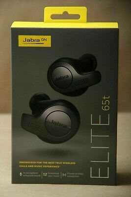 Jabra Elite 65t Alexa Enabled True Wireless Earbuds with Charging Case –Titanium