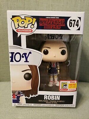 ROBIN AHOY STRANGER THINGS FUNKO POP 2018 SDCC FUNDAYS EXCLUSIVE! (1800 limited)