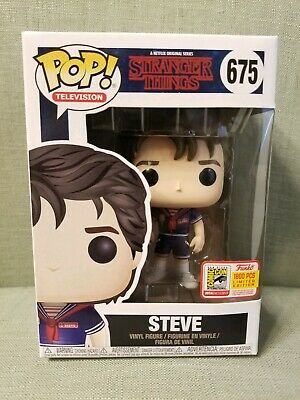 Funko Pop Stranger Things Steve Ahoy 675 SDCC Fundays 2018 LE1800 exclusive