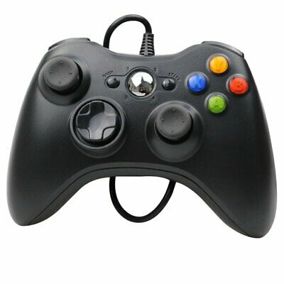 Hot Xbox 360 Wired Controller for Windows & Xbox 360 Console PC USB Wired VU