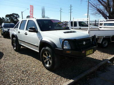 2007 MY08 Holden Rodeo RA LX 60th Anniversay 4WD Dual Cab Turbo Diesel 4X4 Ute