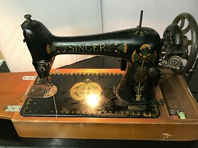 Vintage Electric Singer Sewing Machine (with Light)