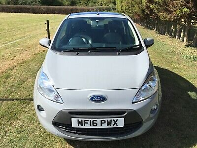 FORD Ka TITANIUM, 2016, LEATHER SEATS, PANORAMIC ROOF, 20,000miles.