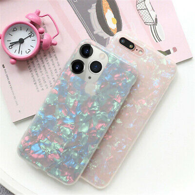 Shell Marble Shockproof Hard Case Cover For iPhone 11 Pro Max XS XR 8 7 Plus 6s