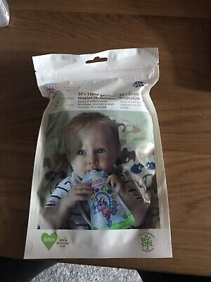 Fill n Squeeze Refill Pack Reusable Pouches For Babies and Toddlers, 10 x 150ml