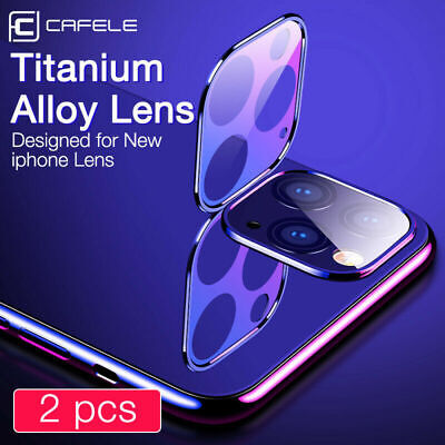 For Apple iPhone 11 Pro Max 2Pcs 9H Camera Lens Tempered Glass Screen Protector
